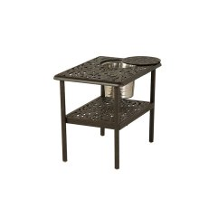 """20""""x28"""" Rectangular Ice Bucket Table for Sectional"""