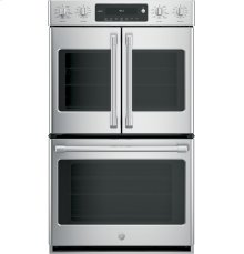 "GE Cafe™ Series 30"" Built-In Double Convection Wall Oven"