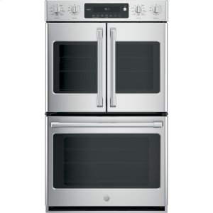 "GE CafeSeries 30"" Built-In Double Convection Wall Oven"