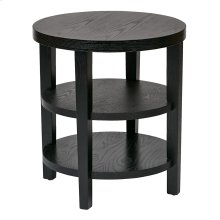 """Merge 20"""" Round End Table"""