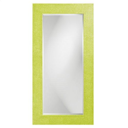 Lancelot Mirror - Glossy Green