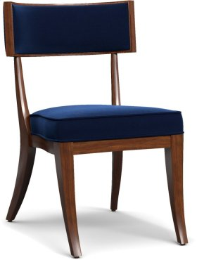 Perch Upholstered Klismos Chair