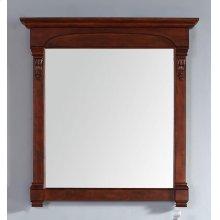 """Brookfield 39.5"""" Mirror, Warm Cherry"""