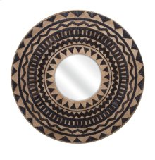 Aztec Embroidered Wall Mirror