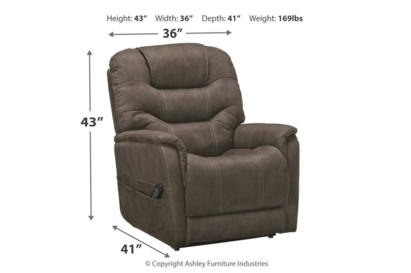 2160412 In By Ashley Furniture In Greensboro Nc Power Lift Recliner