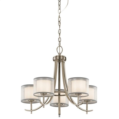 Tallie Collection Tallie Chandelier 5 Light AP