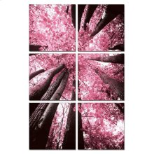 Modrest Blossom Trees 6-Panel Photo on Canvas