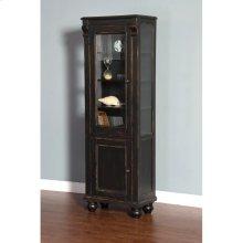 Black Display Cabinet