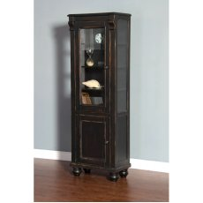 Black Display Cabinet Product Image