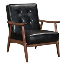 Rocky Arm Chair Black Product Image