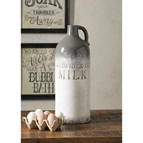 Grain Large Milk Jug