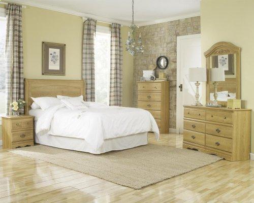 HB28 Sleigh Storage Bed - 4 Drawer - King