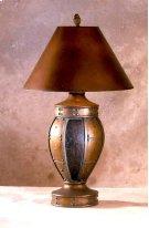 Copper & Burgundy Tulip Lamp Product Image