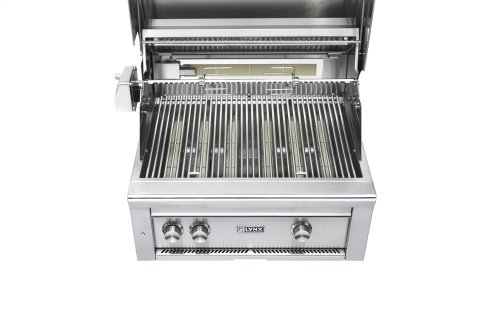 """30"""" Lynx Professional All Trident Built In Grill Rotisserie, NG"""