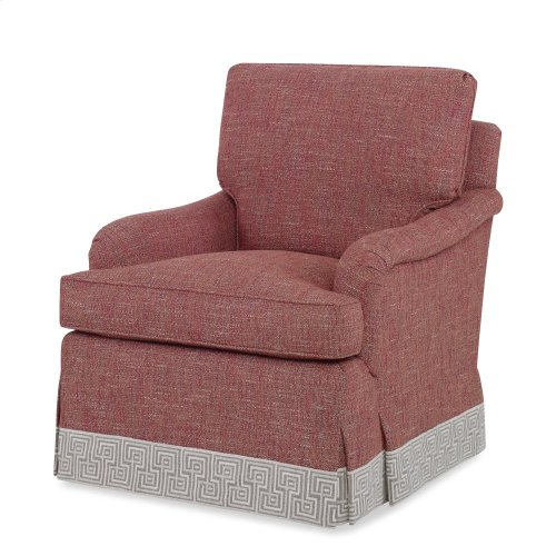 Everton Lounge Chair - Skirted