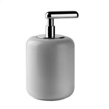 SPECIAL ORDER Freestanding liquid soap dispenser - white Gres