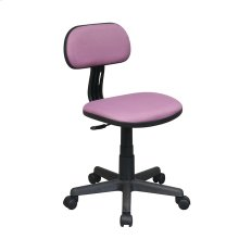 Student Task Chair In Purple Fabric