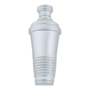 Martini Shaker Knob 3 Inch - Brushed Nickel Product Image