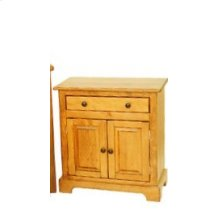 "#140 Clayton Nightstand 25.5""wx14""dx27""h"