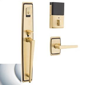 Polished Chrome Evolved Palm Springs Full Escutcheon Handleset