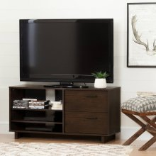 TV Stand for TVs up to 55'' - Brown Oak