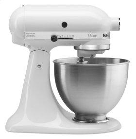 Classic Series 4.5 Quart Tilt-Head Stand Mixer - White