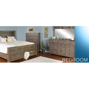 Scottsdale Queen Bed w/ Storage
