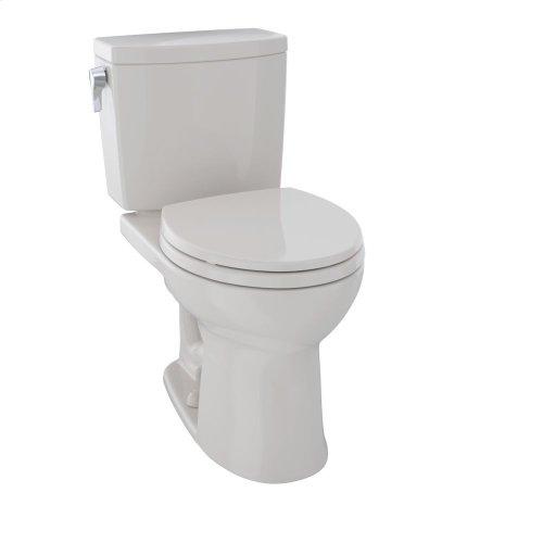 Drake® II Two-Piece Toilet, Round Bowl, 1.0 GPF - Sedona Beige