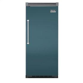 "Iridescent Blue 36"" Quiet Cool™ All Freezer - VIFB Tru-Flush™ (Right Hinge Door)"