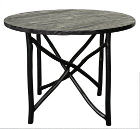 "Ashton Branch Dining Table 40"", Black"