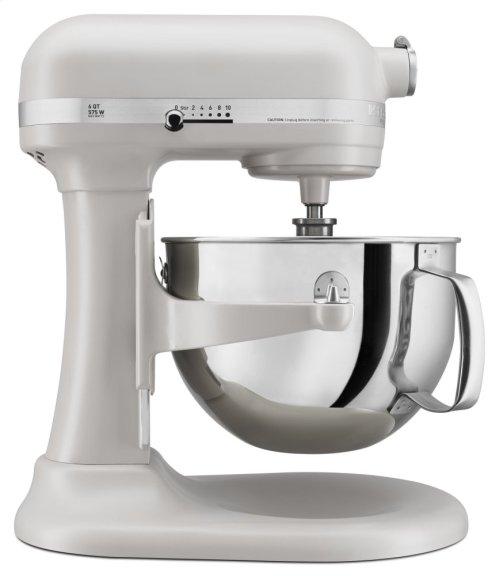 Pro 600 Series 6 Quart Bowl-Lift Stand Mixer - Matte Milkshake