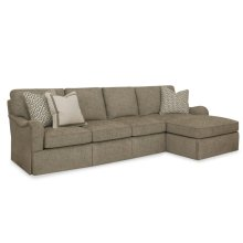 Studio C Sectional - Straight Cushion Option
