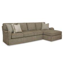 Studio C Sectional - Straight Cushion Option