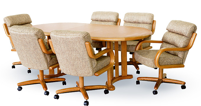 Superb Chromcraft Table Top: Oval (Medium)