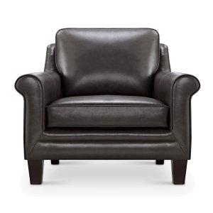 Leather Italia Usa 6538 Andover Chair Rx143 Grey