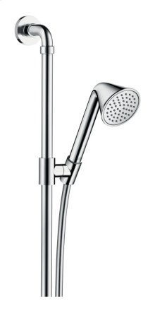 Chrome Shower set 0.90 m with hand shower 85 1jet