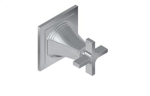 Finezza UNO Stop/Volume Control Trim Plate and Handle