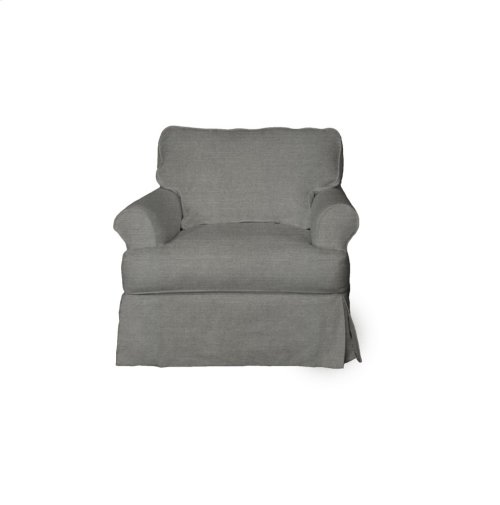 Sunset Trading Horizon Slipcovered Chair - Color: 391094 - Sunset Trading