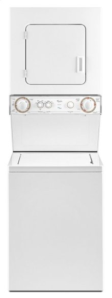 1.5 cu.ft Gas Stacked Laundry Center 6 Wash and 6 Dry cycles