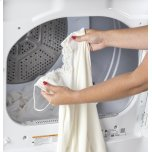 GE ®7.2 Cu. Ft. Capacity Aluminized Alloy Drum Electric Dryer With He Sensor Dry