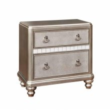 Bling Game Two-drawer Nightstand