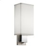 Santiago Collection Santiago 1 Light Fluorescent Wall Sconce - NCH
