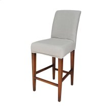 Couture Covers Parsons Barstool Cover - Light Grey