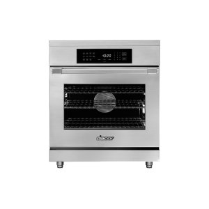 "Dacor30"" Heritage Induction Pro Range, Silver Stainless Steel"