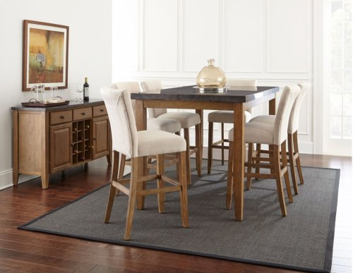 "Debby Bar Table Legs, 42""H [4pcs/box]-40"" x3.125"" x 3.125"""