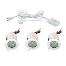 MINILITE KIT 3-LIGHT,FIXED,LED - White