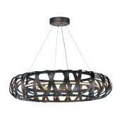 Weave LED 1-Light Chandelier