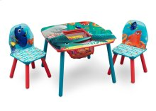 Finding Dory Table & Chair Set with Storage - Style 1