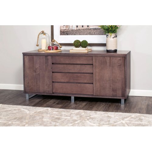 Ironwood Buffet, Ironwood Buffet, Black Base, 72""