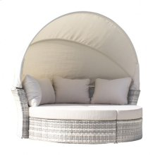 Santorini Canopy Daybed & 2 Ottomans w/cushion